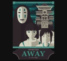 SPIRITED AWAY - STUDIO GHIBLI by STRICKO