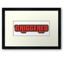 TRIGGERED (GTA - WASTED) Framed Print