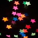 Abstract Bokeh shapes stars by stuwdamdorp