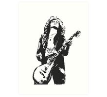 Jimmy Page Led Zeppelin Art Print