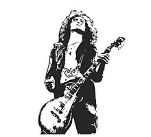 Jimmy Page Led Zeppelin Photographic Print