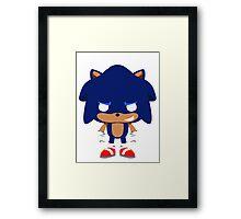 Sonic Pop Framed Print