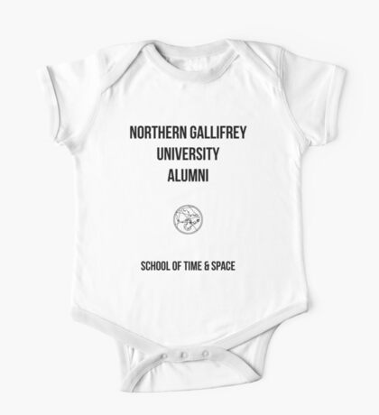 NORTHERN GALLIFREY UNIVERSITY ALUMNI One Piece - Short Sleeve