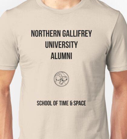 NORTHERN GALLIFREY UNIVERSITY ALUMNI Unisex T-Shirt