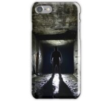 That HOODED Dude... iPhone Case/Skin