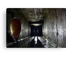 That HOODED Dude... Canvas Print