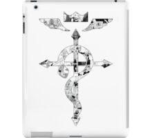 The Elric Brothers Manga Flamel iPad Case/Skin