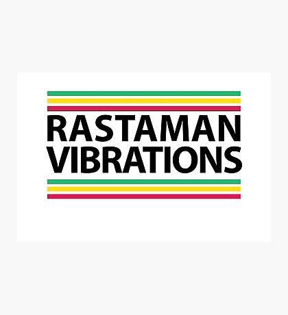 Rasta Art Photographic Print