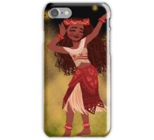 A Traditional Polynesian Dance iPhone Case/Skin