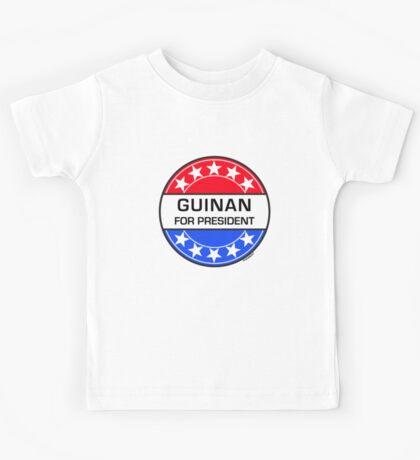 GUINAN FOR PRESIDENT Kids Tee