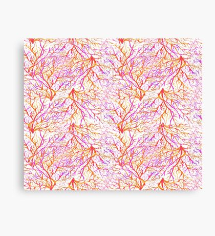 Bright corals Canvas Print