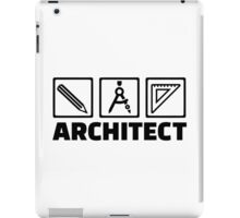 Architect tools compass iPad Case/Skin