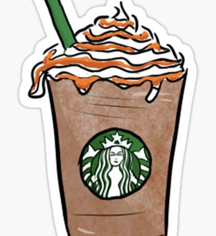 Starbucks Cartoon // By Phuxi Sticker