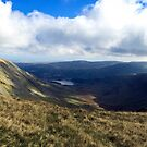 Kidsty Pike and Haweswater, Cumbria, UK by GeorgeOne