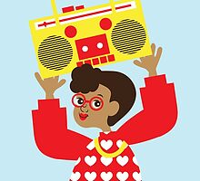 Trini Transistor Radio by TabithaBianca