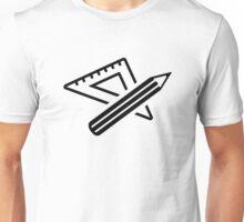 Ruler pencil Unisex T-Shirt