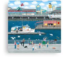 Steveston Landing Canvas Print