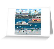 Steveston Landing Greeting Card