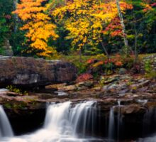 Fall Foliage and Waterfalls Sticker