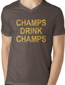 CHAMPS DRINK CHAMPS Mens V-Neck T-Shirt