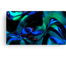 Spacetime Flow III Canvas Print