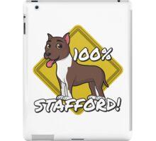 100% Stafford iPad Case/Skin