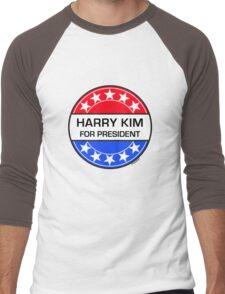 HARRY KIM FOR PRESIDENT Men's Baseball ¾ T-Shirt