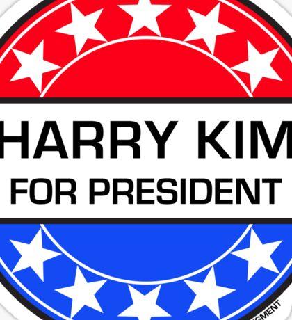 HARRY KIM FOR PRESIDENT Sticker