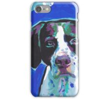 English Pointer Dog Bright colorful pop dog art iPhone Case/Skin