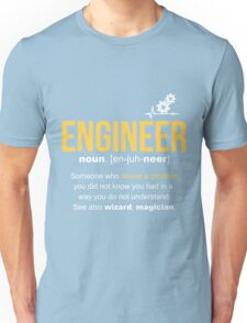 Engineer Definition Funny Gift  Unisex T-Shirt