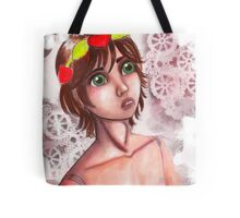 Doll and Crown Tote Bag
