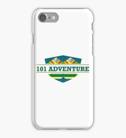 101 ADVENTURE iPhone Case/Skin