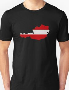 Austria map flag T-Shirt