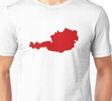 Austria Map Unisex T-Shirt