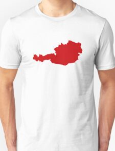 Austria Map T-Shirt