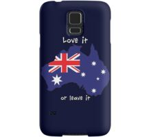 Australia | Love it - or leave it Samsung Galaxy Case/Skin