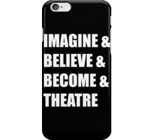 Imagine & (white) iPhone Case/Skin