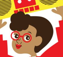 Trini Transistor Radio Sticker