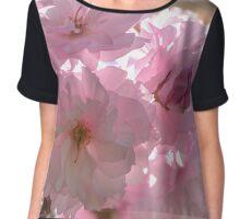 Cherry Blossoms Chiffon Top
