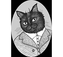 Maurice The Cat Photographic Print