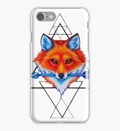 Geometry fox iPhone Case/Skin