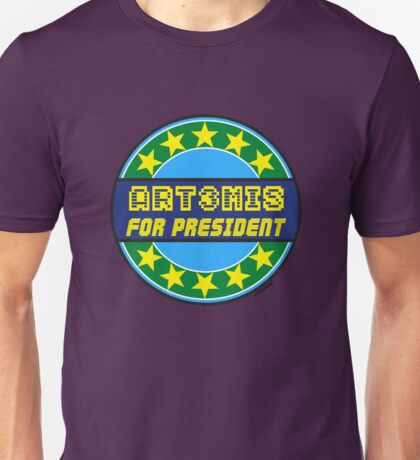 ART3MIS FOR PRESIDENT Unisex T-Shirt