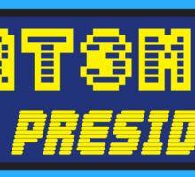 ART3MIS FOR PRESIDENT Sticker