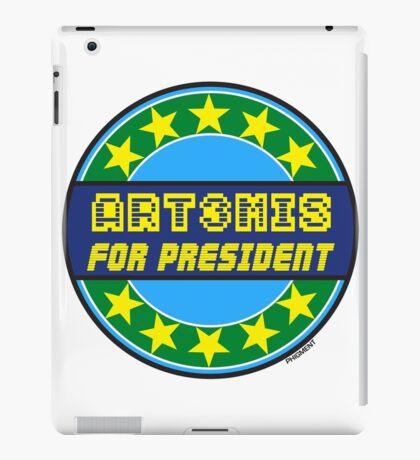 ART3MIS FOR PRESIDENT iPad Case/Skin