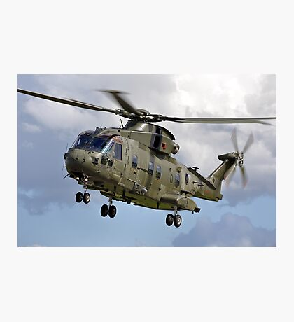 Royal Air Force AgustaWestland Merlin HC.3 helicopter Photographic Print
