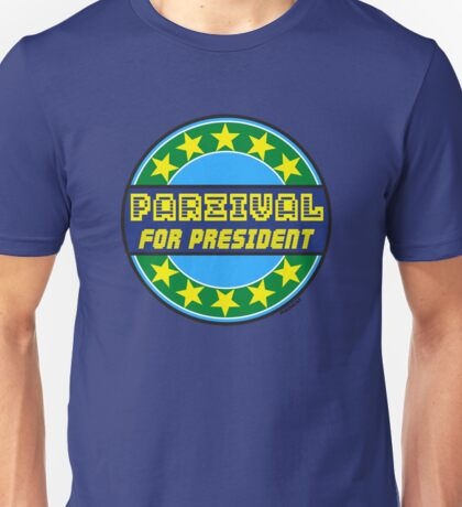 PARZIVAL FOR PRESIDENT Unisex T-Shirt