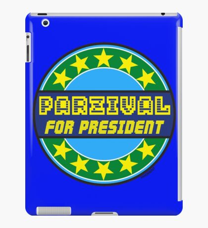 PARZIVAL FOR PRESIDENT iPad Case/Skin
