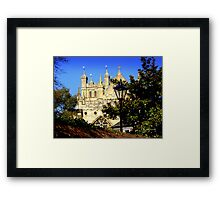A Glimpse of Exeter Cathedral Framed Print