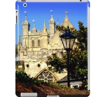 A Glimpse of Exeter Cathedral iPad Case/Skin