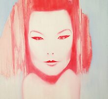 BJORK Portrait by William Wright